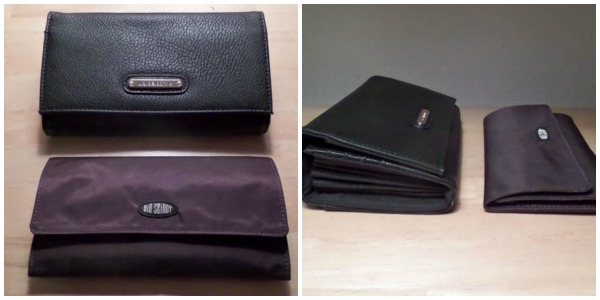 My old larger wallet is empty, the Big Skinny Wallet is full of cash and cards.